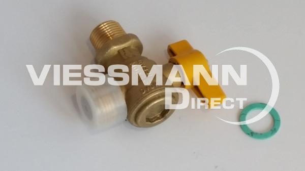 Gas angle valve g3 4 x r1 2 viessmann direct for Viessmann vitoconnect