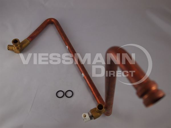 Connection tube hv viessmann direct for Viessmann vitoconnect