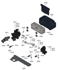 7121001 Hydraulic Block