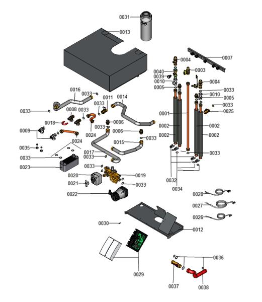 7690634 - Top Mounting Mixer Kit