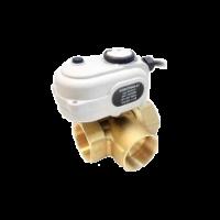 Motorised 3 way valve