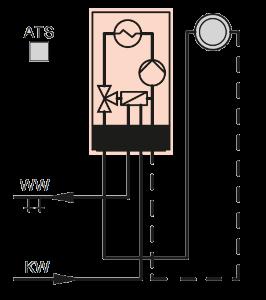 Vitodens 100-W PlusBus System