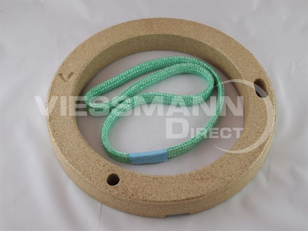 7828347 Thermal insulation ring with rope seal