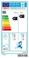 Vitocal 100-A 12kW Energy Label