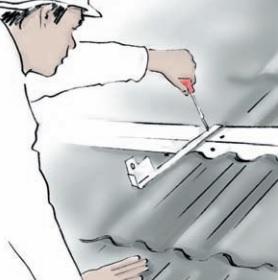 Dept Solar Roof Fixing