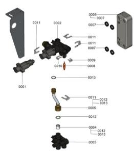 7124735 Hydraulic Block