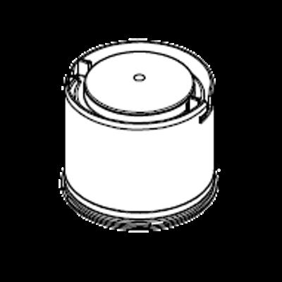 7722907 ZK05976 Flue 80mm Flue gas non-return valve