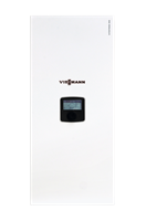 German Electric Boiler Vitotron 100 Electric boiler weather comp 3-24 kW