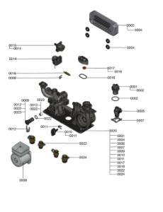 7121337 Hydraulic Block Detail
