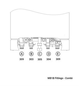 WB1B Fittings - Combi