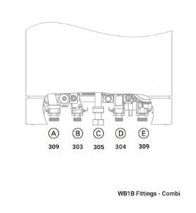WB1B Fittings - Combi