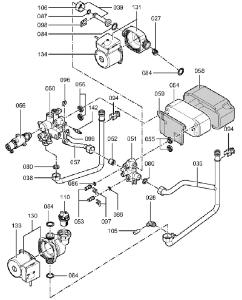 7423015 Hydraulics Block
