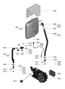 7121383 Hydraulic Detail