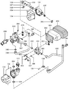 7374980 Hydraulic Block