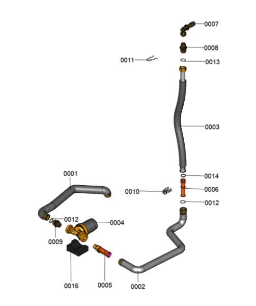 7690627 - Secondary Circulation Kit