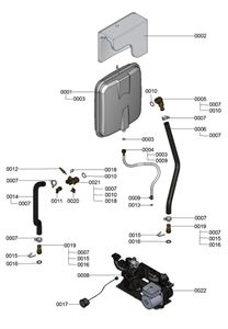 7121377 WB1C Hydraulic Detail