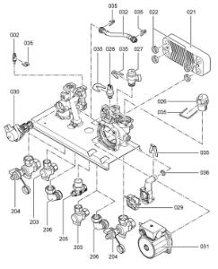 7247426 Hydraulic Block