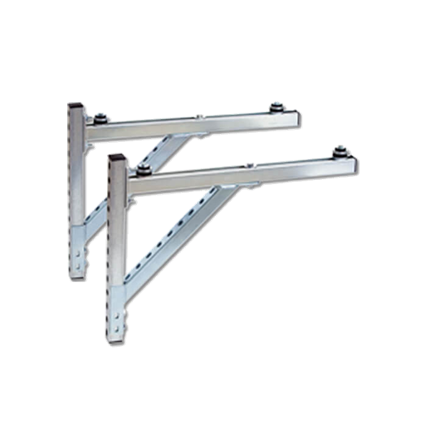 Part number ZK02930 is a pair of metal brackets for wall mounting an air-source heat pump