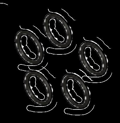 O rings x5
