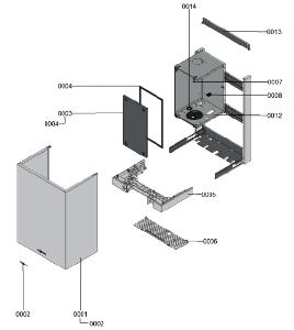 B1LA 7121606 Housing Detail