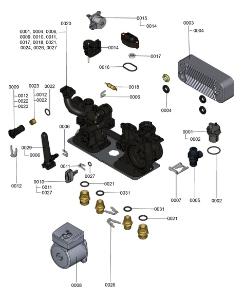 7121313 Hydraulic Block Detail
