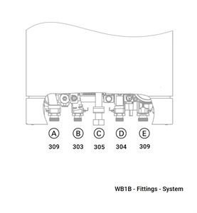 WB1B Fittings - System