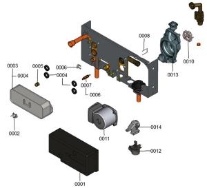7115440 Hydraulic Plate