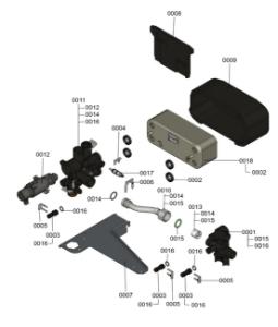 7121909 Hydraulic Block