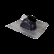 7452499 Flue 60/100mm 80/125mm  Universal Roof Tile (Black)