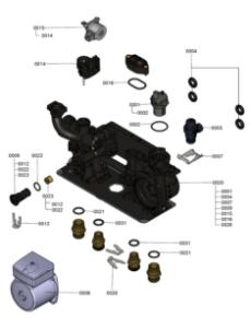 7121317 Hydraulic Block Detail