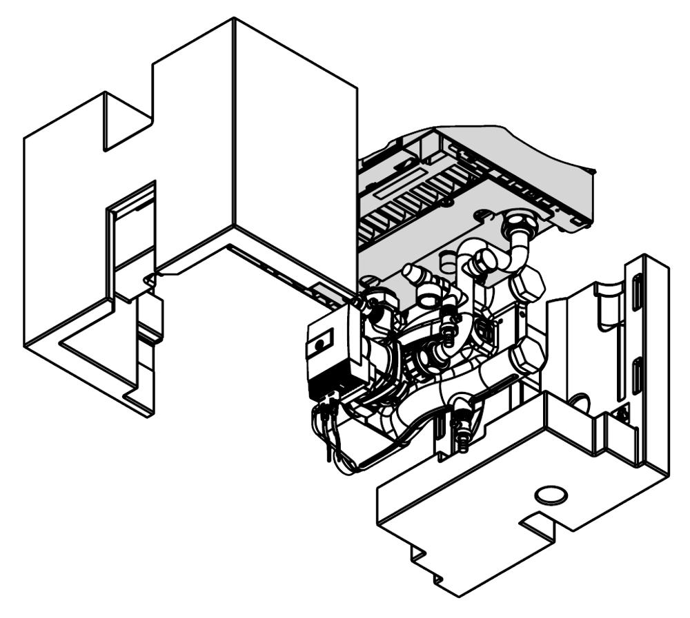 Zk03663 conn set htg circuit with he pump llh v200 w 49 60kw viessmann direct for Viessmann vitoconnect