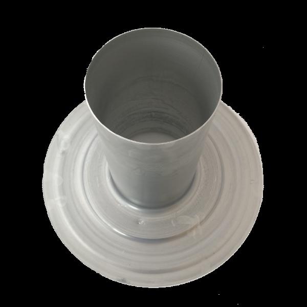 7426187 Flue 100/125mm Flat roof collar