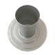 7426187 Flue 100/125mm Flat roof collar