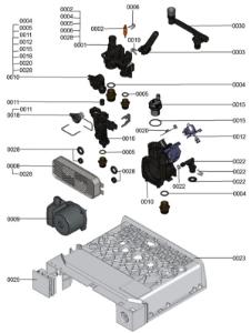 7124568 Hydraulic Block