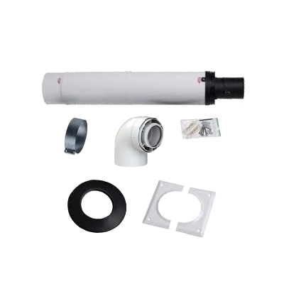 7411961 Flue 60/100mm Telescopic Flue Kit