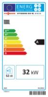 Energy label B1HC 35kW