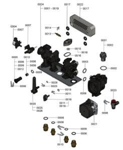 7124646 Hydraulic Block