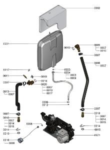 7121336 Hydraulic Detail