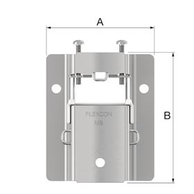 27913 MB 2 expansion vessel wall mounting bracket