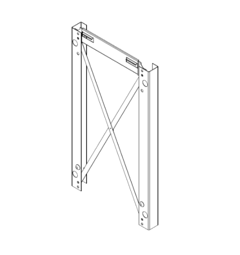 ZK05677 Vitodens 100-W PlusBus combi and system boiler stand off frame