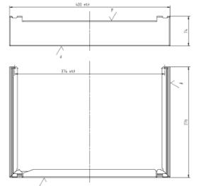 7905049 Vitodens 100-W Plusbus Valve fittings cover