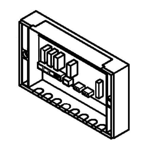 7818380 Circuit board connection box