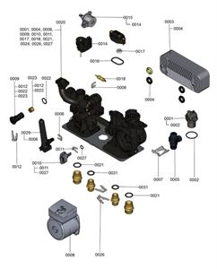 7121312 Hydraulic Block Detail