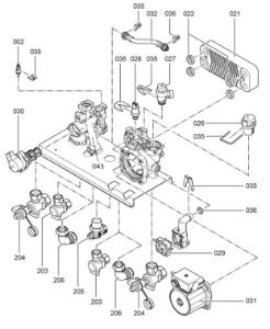 7179917 Hydraulic Block
