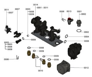 7124413 Hydraulic Block