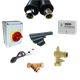 Vitocal 100-A air source heat pump installation kit comprising of 8 fittings