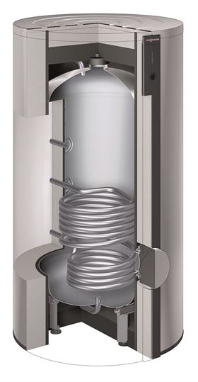 Vitocell 300-V EVIA-A 500L Cutaway