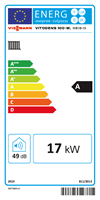 Energy label 19kW