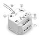 Wireless Receiver Flush Box